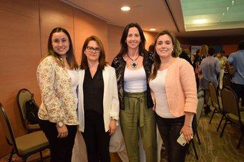 Valentina Torrado, Silvina Santillan, Magdalena Narbondo y Ximena Torrado