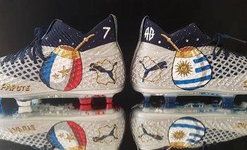 Los zapatos de Griezmann