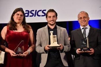 Dahiana López, Emiliano Lasa y Fabián Coito