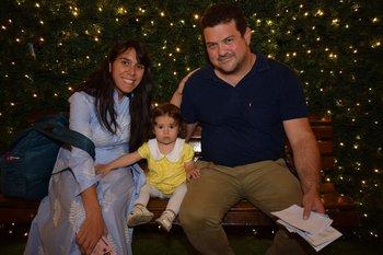Mariana Pereyra, Joaquina y Carlos Pressa