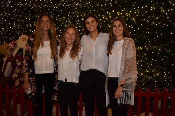 Vanina Friedmann, Inés Levrero, Camila Abreu y Camila Álvarez