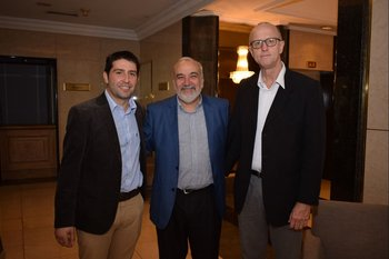 Willie Tucci, Wilson Netto y Erwin Bachmann