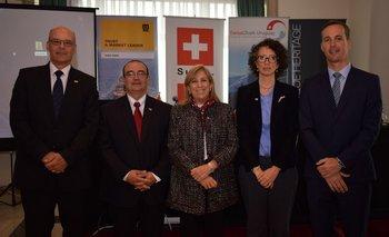 Martin Sturb, Pablo Denis, Graciela Reybaud, Carolina García y Andreas Dürig