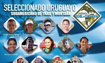 Selección uruguaya para el Sudamericano de Trail