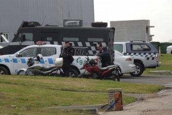 Imagen del evento de Interpol realizado en julio en Punta del Este.