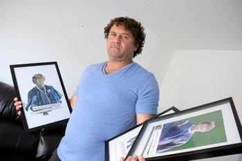 Marcelo Tulbovitz tiene una colección de premios de Fútbolx100 como mejor preparador físico del fútbol uruguayo