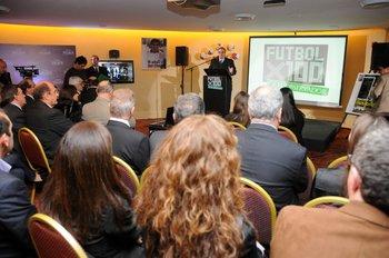 Entrega de premios de Fútbolx100 en 2011