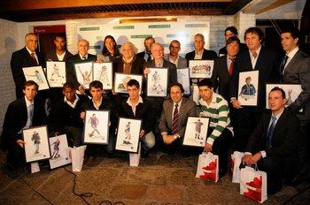 Entrega de premios de Fútbolx100 del Campeonato Uruguayo 2010-2011