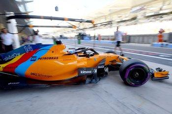 El McLaren especialmente diseñado para la despedida de Alonso