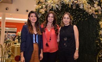 Mariana Cosentino, Carolina Perrone y Marianela Garbarino