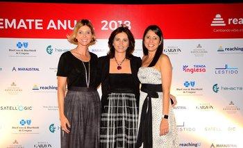 Fernanda Guliak, Patricia Miller y Verónica Burgueño