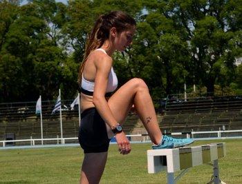 Pía Fernández tuvo un gran debut en los 3.000 obstáculos
