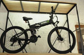 Uno de los modelos de bicicletas eléctricas que ofrece Wheele Uruguay