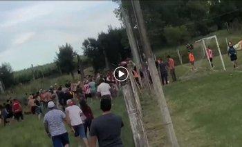 Incidentes en el partido entre Juanicó y Libertad por la Liga de Canelones