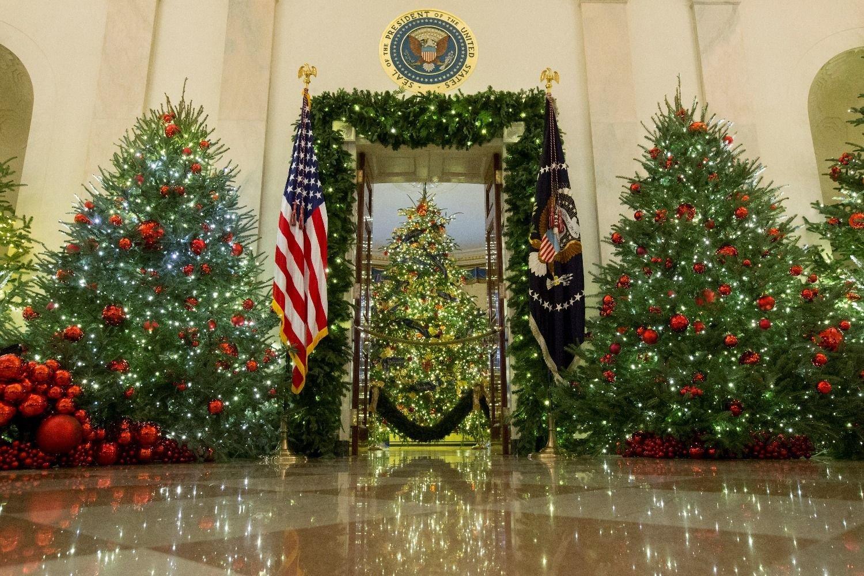 Comparan decoración de la Casa blanca con 'El Resplandor'