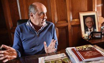 El senador y precandidato por el Partido Colorado, José Amorín Batlle