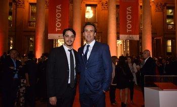 Santiago Taralo y Alejandro Curcio