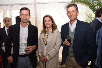 Carlos Lecueder, Laura Acea y Gerardo Lecueder