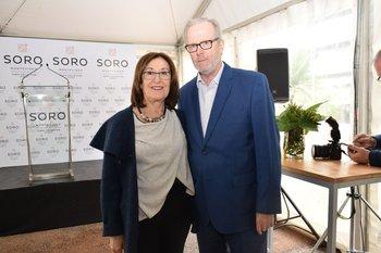 Nora Kimelman y Eduardo Laporta