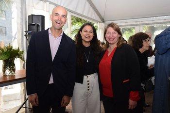 Pablo Scarpino, Patricia Da Fonte y Alejandra Volonterio