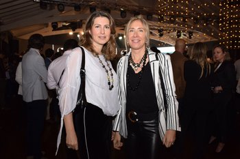 Lisette Blasiak y Geraldine Mures