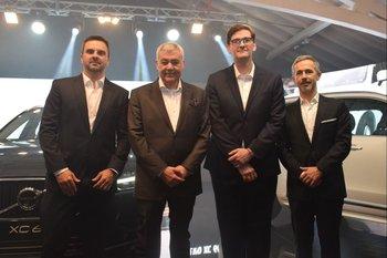 Marcelo Kronemberger, Ricardo Lessmann, Martin Oyarzún y Ignacio Nualart