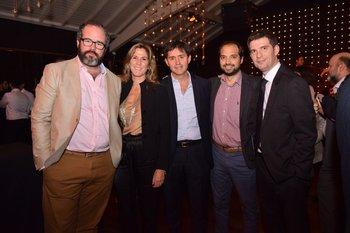 Nicolás Jasidakis, Elina Fynn, José Arguiñarena, Faustino Merlo y Nicolás Bastos