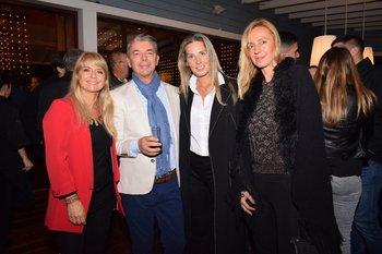 Ana Pertuchelli, Carlos Lucas, Anny De Los Santos y Patricia Wild