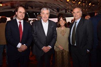 Bernardo Amorin, Ricardo lessman, Marcela Hughes y Gabriela Arancibia