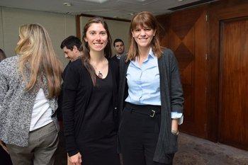 Paola Gómez y Mónica Galleno