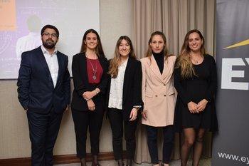 Fernándo García, Jimena Artola, Mercedes Oliver, Emiliana Beati y Leticia Arias