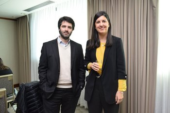 Joaquin Villamil y Analia Rey