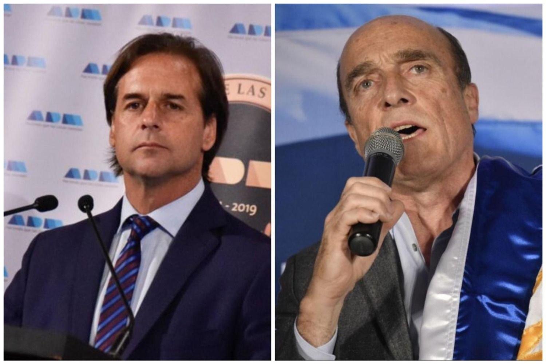 Equipos: Martínez 42%, Lacalle 47%