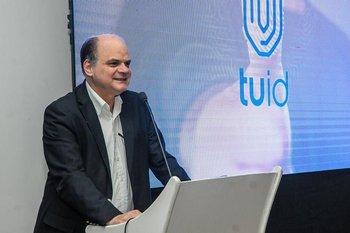 Presidente de Antel, Ing Andrés Tolosa