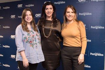 Verónica Roybal, Patricia Bruno y Natalia Cambón