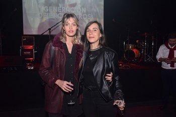 Magela Borras y Martina Ghuisolfi