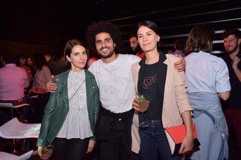 Mercedes Hicelian, Imanol Castro y Florencia Lamas