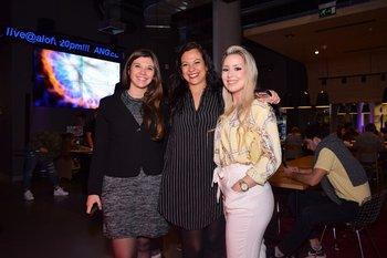 Valentina Cantiago, Daniela Pereyra y Jessica Gularte