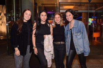 Julieta Roman, Agustina De Souza, María Inés Etchandy y Alexandra Laca