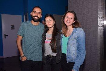 Richard Rodríguez, Sofia Ibarra y Natali Flores