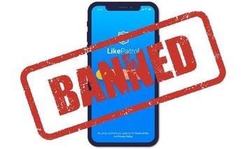 Apple prohibió Like Patrol, una app inventada por un mexicano, por usar datos que considera privados.