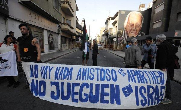 Irma Leites, la bandera de Palestina y el pedido de no jugar en Israel - El Observador