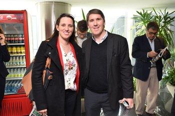 Adriana Doglio y Alejandro Hadarits