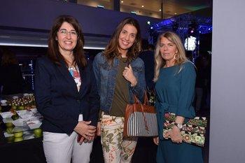 Teresa Da Costa, Giorgina Steiner y Patricia Chuayre