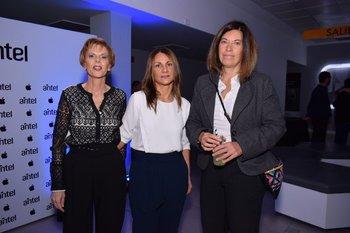 Silvia Ruiz, Verónica Tasende y Marcia Rama