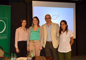 Dra. Cecilia Vitola, Dra. Andrea Urrusty, Prof Adj. Dr. Santiago Cedrés, Dra. Laura del Puerto