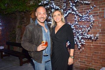 Jimmy Castilhos y Mariana Dárdano