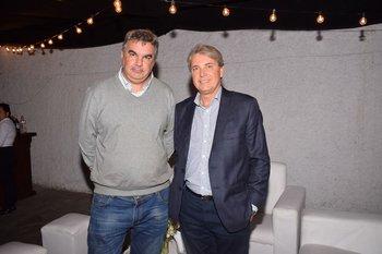 Pablo Berlano y Antonio Maeso