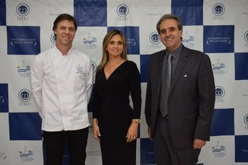 Tomás Bartesaghi, Mariana Dárdano y Remo Monzeglio