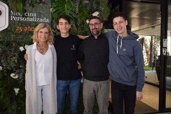 Cristina Giuria de Berenbau, Maximiliano Díaz, Nestor García y Juan Manuel Placeres